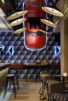 O13 Café-Bar In Thessaloniki, Greece | http://www.yatzer.com/ocean-13-thirteen-thessaloniki-greece