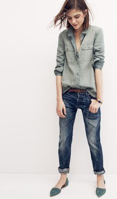 "urbnite: "" Madewell Rivet and Thread Premium Jeans """