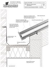 Rafterline Patent Glazing Bar Drawings