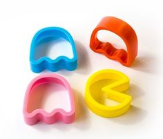 Pacman cookie cutters! :3