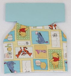 Dog Jacket  Winnie the Pooh and Friends/Square by PatienceWayShop