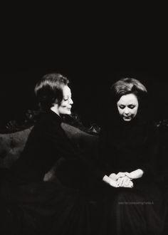 "Maggie Smith and Shelia Reid, ""Hedda Gabler"", 1970"