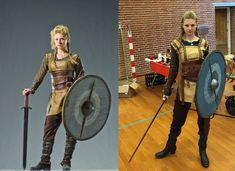 Lagertha - Vikings cosplay. Step by step walkthrough of how the cosplay was…