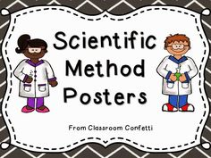 Classroom Confetti: Scientific Method Posters Freebie!