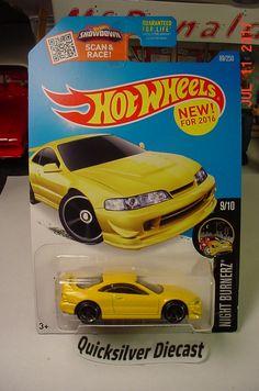 Hot Wheels Custom 01 Acura Integra GSR Yellow 2016 89 BP