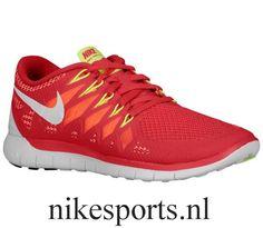 wholesale dealer 9e9fa f6886 Nike Free 5.0 2014 - Women s - Legion Red Laser Crimson Atomic Mango
