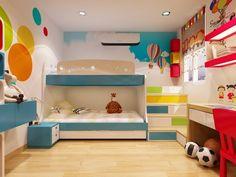 Gợi ý trang trí nội thất phòng ngủ cho bé gái đơn giản mà đẹp