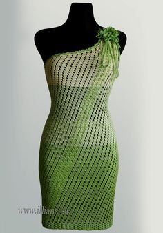 padrão de vestido de crochê