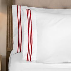 Egyptian Comfort 1800 Thread Count Hotel Colored Trim Sheet Set