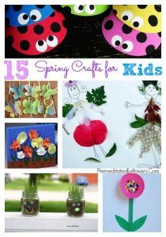 15 Spring Crafts For Kids