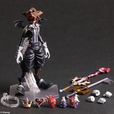 Kingdom Hearts Halloween Town Sora Play Arts Figure Coming Soon
