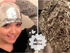Truque com uma folha de papel alumínio que encanta até os cabeleireiros profissionais - Receitas e Dicas Rápidas