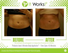 It doesn't matter if you have a lot of extra skin or a little, the ultimate body applicators will tighten, tone and firm wherever you wrap in 45 mins, and the results just get better with time! Healthy diet is necessary to keep results   Text me to get yours! 720-278-1870