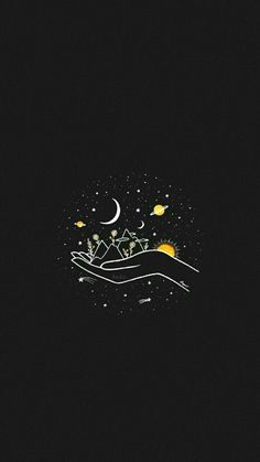 30 Gambar Wallpaper Anime- Enjoy the beautiful art of anime on your screen. Black Background Wallpaper, Dark Wallpaper Iphone, Minimalist Wallpaper, Cute Wallpaper Backgrounds, Galaxy Wallpaper, Cute Wallpapers, Paintings With Black Background, Cute Black Wallpaper, Twitter Backgrounds