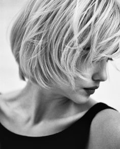The Streets of New York~Laurel Pantin; hair by Andreas Schoenagle