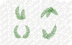Leaves svg - Leaf svg - Leaves clipart - Leaves bundle - Leaves svg files - for cricut - for silhouette - Leaf Clipart, Silhouette Vector, Svg Files For Cricut, All Design, Clip Art, Leaves, This Or That Questions, Shop, Cards
