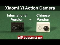 Xiaomi Yi Action Camera - Chinese vs International Version - YouTube Chinese, Action, Youtube, Group Action, Youtubers, Chinese Language