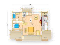 Tiima 96 | Vapaa-ajan asunnot | Talomallisto | Tiimatalot Ky