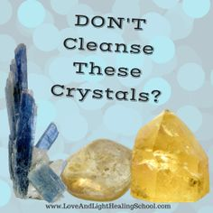 DON'T CleanseThese Crystals? When it comes to cleansing crystals, there are tons of differing opinions in the crystal healing community: how to cleanse, when to cleanse, why to cleanse… But the most interesting, and sometimes controversial, topic surrounding cleansing, is whether or not ALL stones need cleansing.