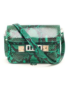 Browns fashion & designer clothes & clothing   PROENZA SCHOULER   'PS11' Python Leather Bag