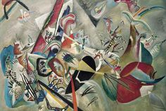 Wassily Kandinsky - In The Grey, 1918