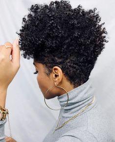 Tapered Natural Hair Cut, Natural Hair Short Cuts, Short Hair Cuts, Natural Hair Styles, Natural Hair Haircuts, Cool Hairstyles, Hair Expo, Shaved Hair Designs, Tapered Haircut