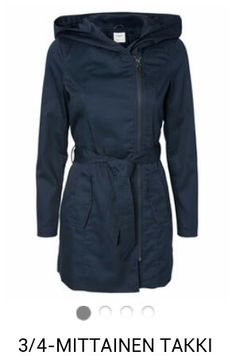 Veromoda spring coat navy