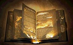After opening it, the text in the book becomes visible with your breath. When the page is filled, it turns into a new blank page Magic Book, Magic Art, Magic Spells, Fantasy Images, Fantasy Art, Magia Elemental, Fantasy Weapons, Fantasy World, Fantasy Characters