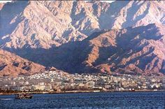 Eilat, Israel ~ it is absolutely beautiful.  One of my favorite places in Israel.