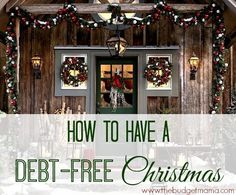 Stressing about Christmas and how you're going to afford it? Avoid going into debt this holiday season by following these ideas for a debt-free Christmas.