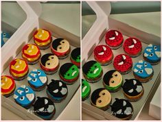Lego marvel cupcakes via google search