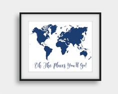 60% OFF Oh The Places You'll Go Print Nursery by AenaonArtWork