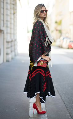 Thassia Naves from Street Style: Paris Fashion Week Spring 2015