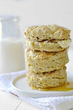EASY Mouth-watering biscuits are the perfect accompaniment for dinner. Plus, they are gluten, egg, and dairy-free!