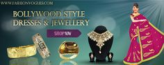 Fashion Vogues offers the greatest collection of Bollywood style jewelry and dresses, groom accessory, bridal accessory, gold layered jewelry, fashion jewelry, costume jewelry, all kinds of fashion accessory at wholesale price. All the jewelry is handcrafted in India with the latest design and elegant look. Visit Us - http://orolaminado.jigsy.com/