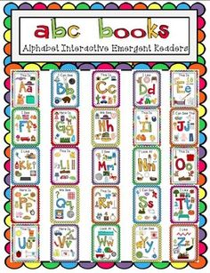 Alphabet Interactive Emergent Readers