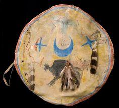 Sioux shield.  Peabody Harvard.  ac