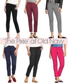 So stretchy and colorful. I'll definitely be packing several pairs of my Old Navy Pixie Pants!