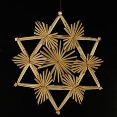 Xmas straw star
