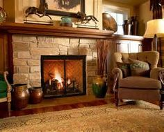 in addition to choice 1 | House Ideas | Pinterest | Fireplace mantel