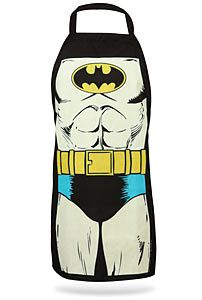 """""""Batman Apron""""-i need one of these when i'm cooking x)"""
