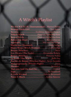 Season of the witch is coming. I included some witchy Latino songs (the videos are very witchy) Music Mood, Mood Songs, New Music, Halloween Playlist, Halloween Songs, Witch Music, Hallowen Ideas, Music Recommendations, Song Suggestions