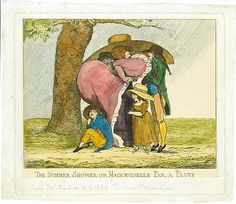 The Summer Shower, or Mademoiselle Par, a Pluye, British, 18th century, May 16, 1786