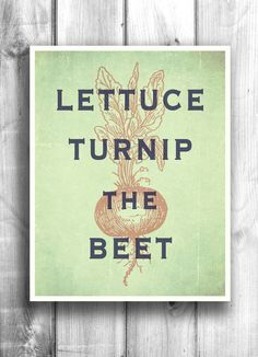 Cute sign for a kitchen!