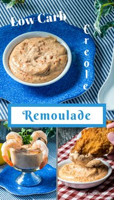 Creamy low-carb Remoulade - Creole style!