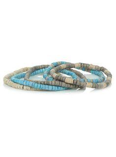 Mixed Bead Stretch Bracelet - $12