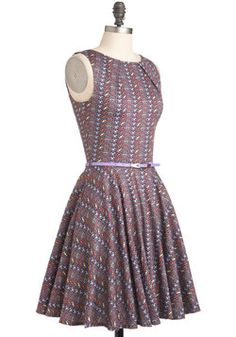 Luck Be a Lady Dress in Dots, #ModCloth