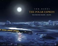 """A young boy who is unsure of whether or not he believes in Santa Claus takes a magical trip on """"The Polar Express"""" to the North Pole on Christmas Eve. His beliefs quickly change when he sees Santa Claus and his elves loading the presents. This book shows a young boys journey to the North Pole.  A literature activity could be to write a paragraph about something they believe in that others may not"""