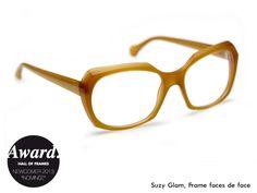 "Designer: Susanne Klemm Model: ""faces the face"" in honey matt Since: 2013 Web: www.suzyglam.com"