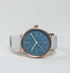 VOID Vo3D analogue watch copper light blue